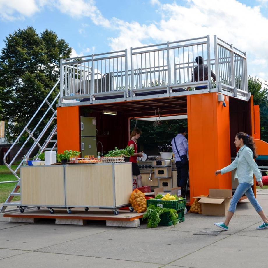 Refugees' Kitchen auf Zollverein 2016