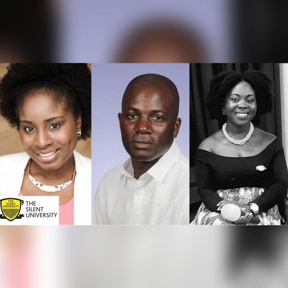 Esther Samson Ukaria, Murdoch MacCunningham, Augustina Nyarko