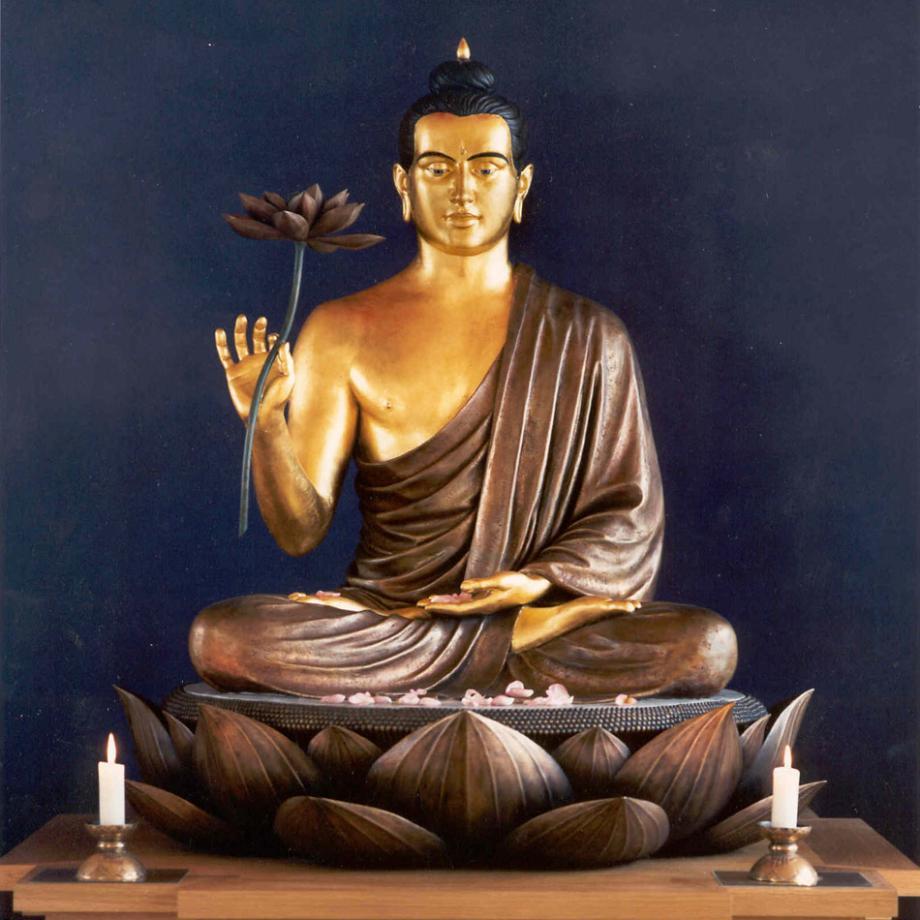 Schrein im Buddhistischen Zentrum Essen