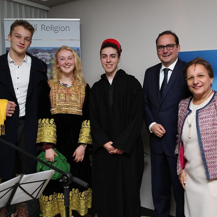 Feier zum 200. Geburtstag des Bab 2019, mit Oberbürgermeister Thomas Kufen, im Baha'i Zentrum Essen