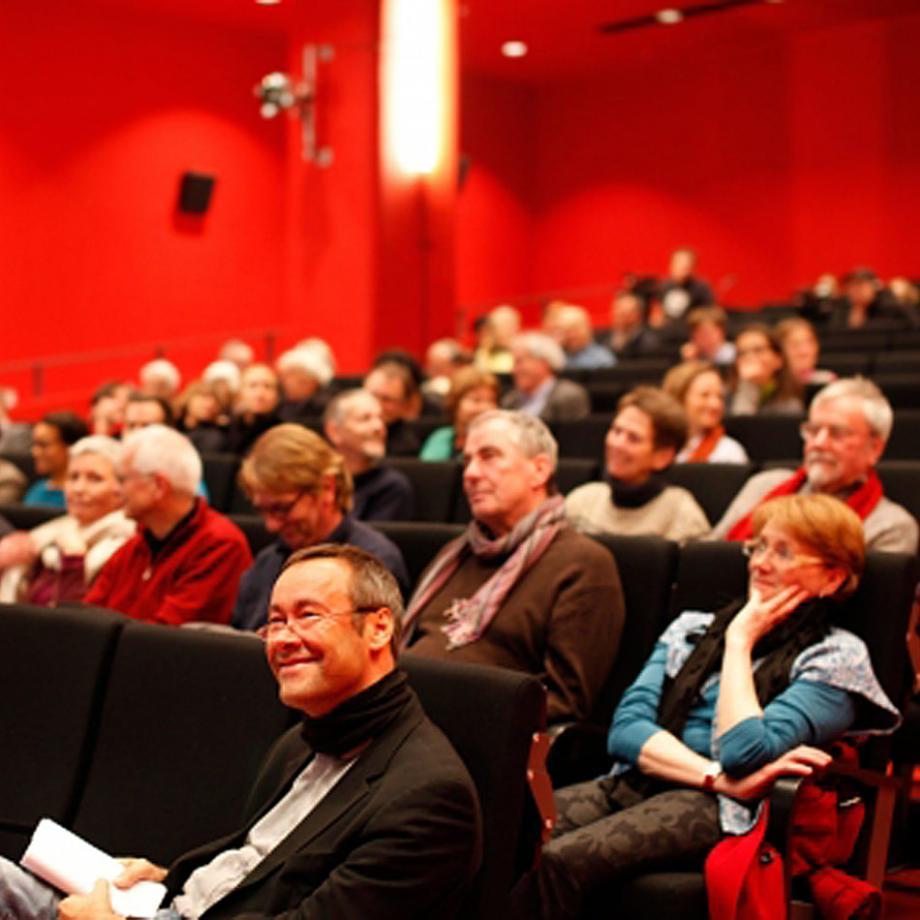 Konferenz im Kino im Dortmunder U