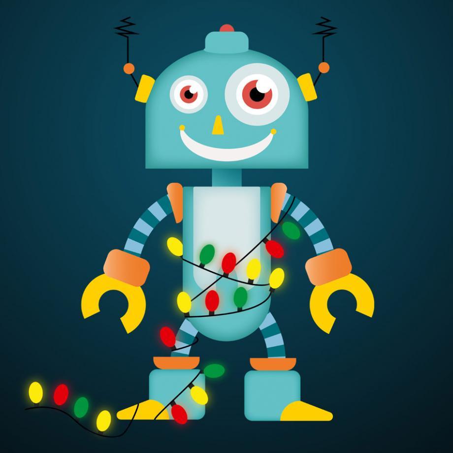 Der Weihnachtsroboter