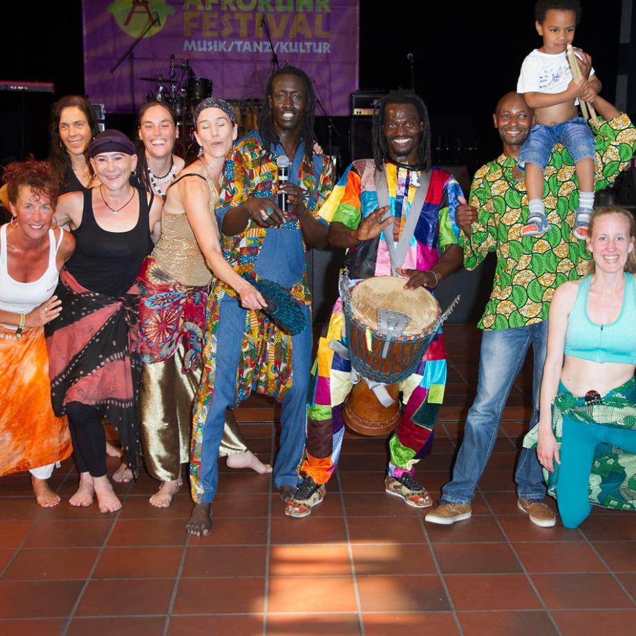 Afro-Beat Tanzauftritt