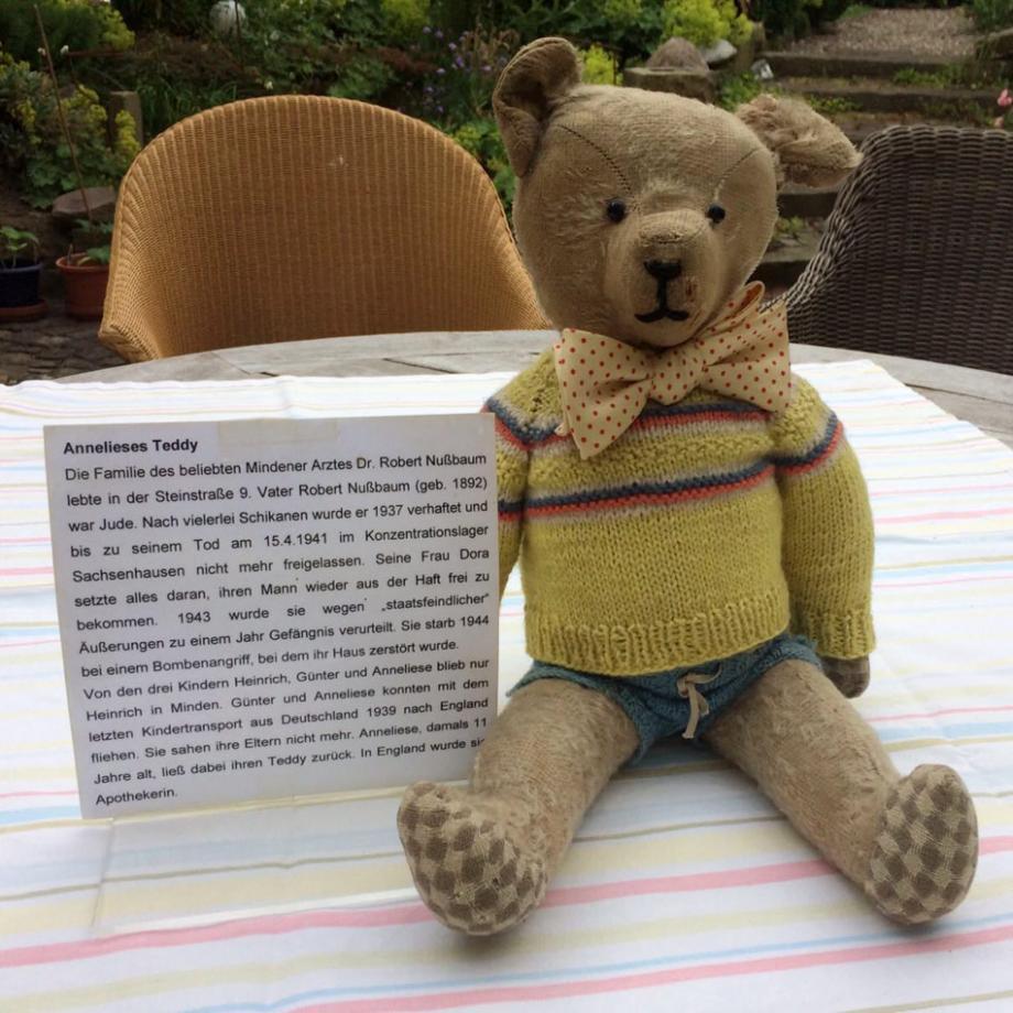 Anneliese Nußbaums Teddy, Exponat des Jüdischen Museums Westfalen