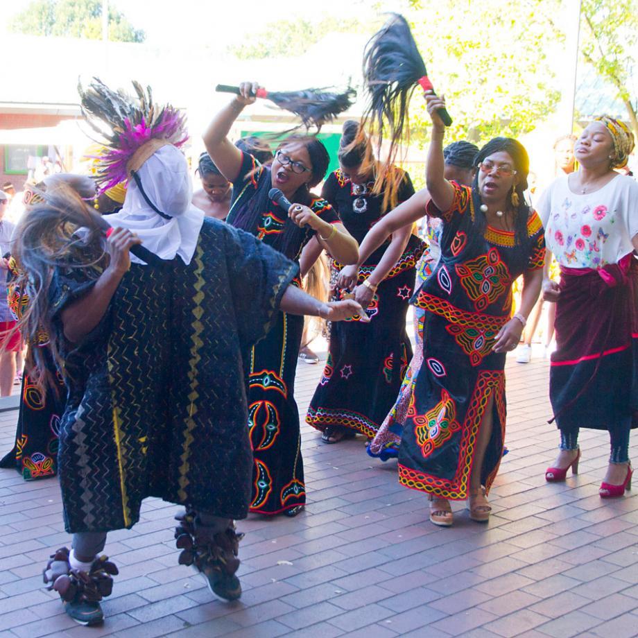 Bali Tanzgruppe