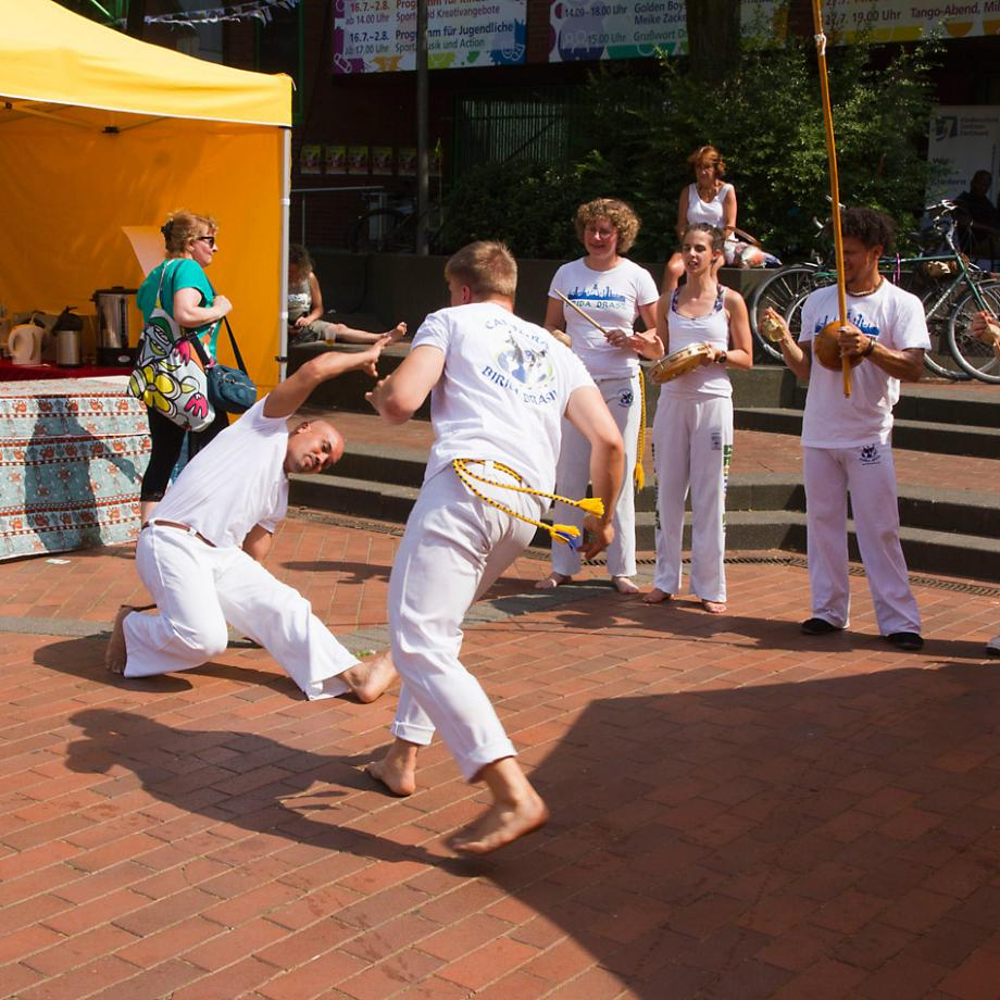 Capoeira mit Biriba Brasil