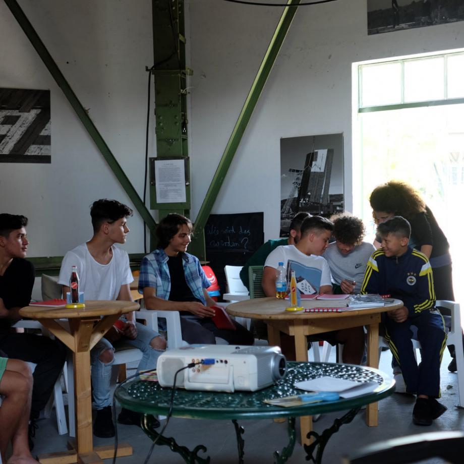 Dreharbeiten für die Pilotfolge der Webserie Lohberg46