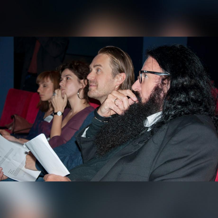 Jury im Zuschauerraum 2018