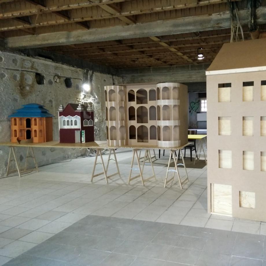 Fassade, Modellbau