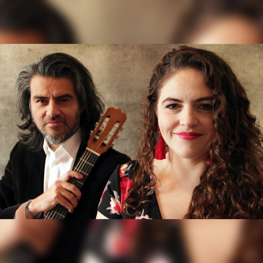 Marisa Álvarez und Josué Partida