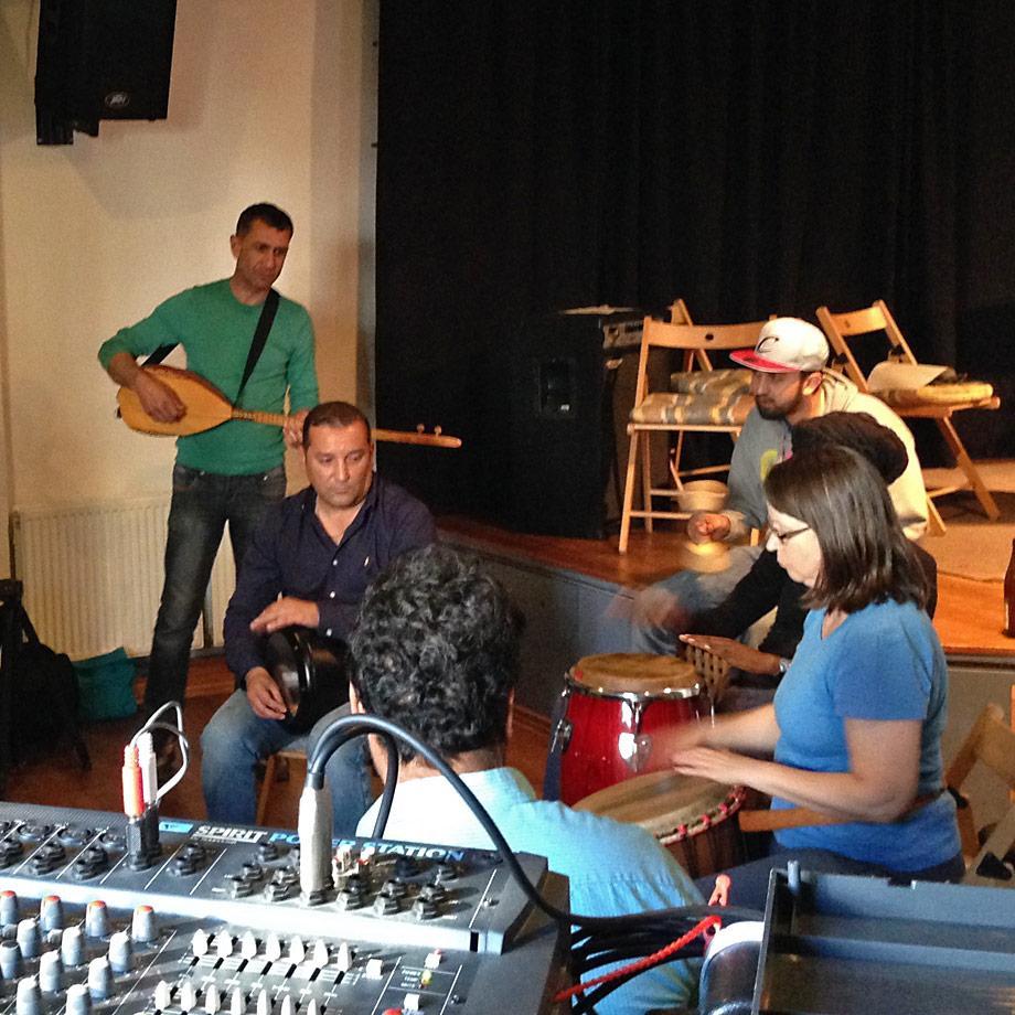Proben des Diversity Ensembles in Hagen