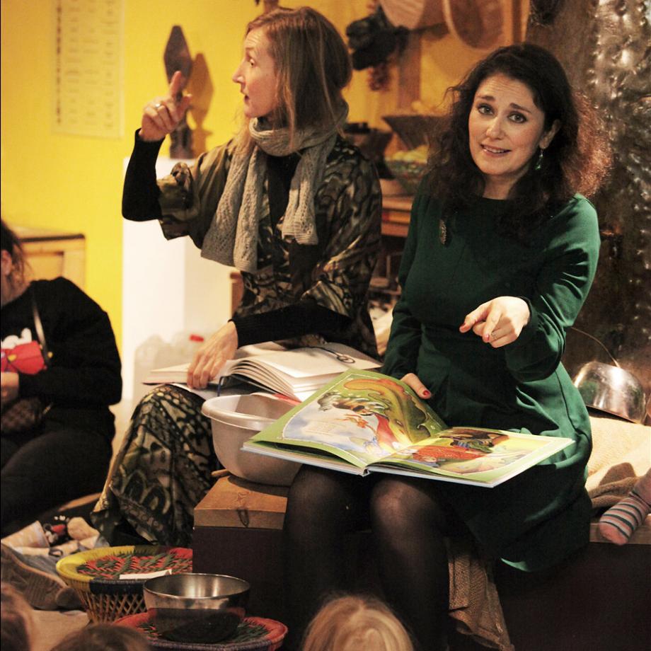 Deutsch-russischer Märchennachmittag mit Monika Bujinski & Alexandra Lowygina