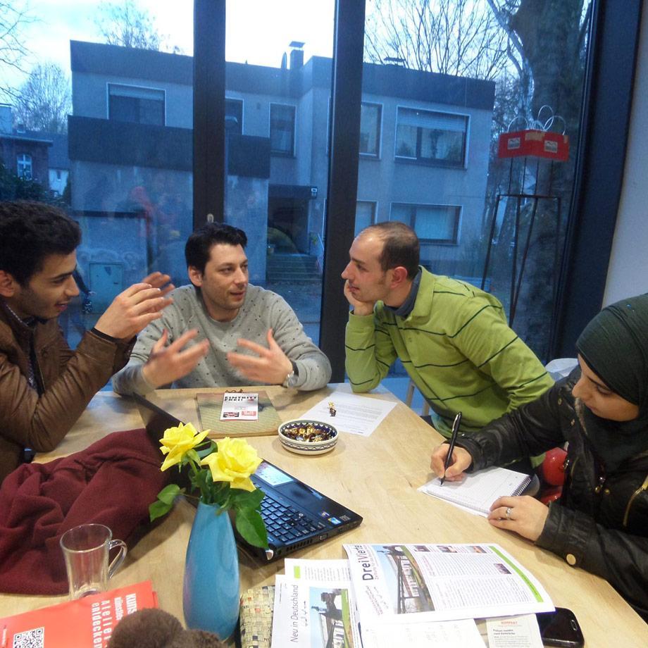 Teilnehmer des Zeitungsprojekts