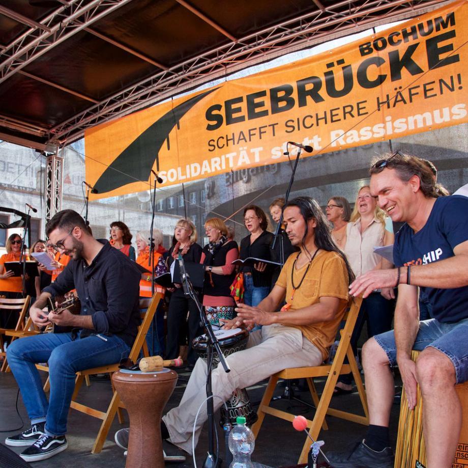Konzert zur Seebrücke Bochum