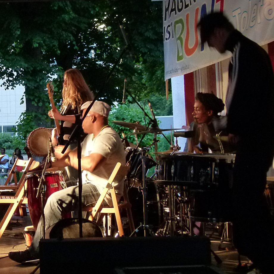das Diversity Ensemble beim Vielfalt-Tut-Gut-Festival 2016