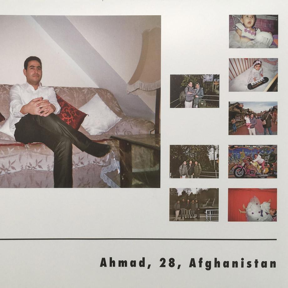 Ausstellung: Mein neues Leben in Bildern