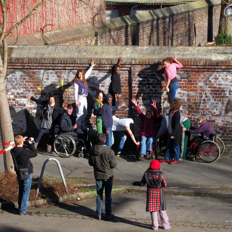 Akrobatik-Workshop Dorothea Eitel