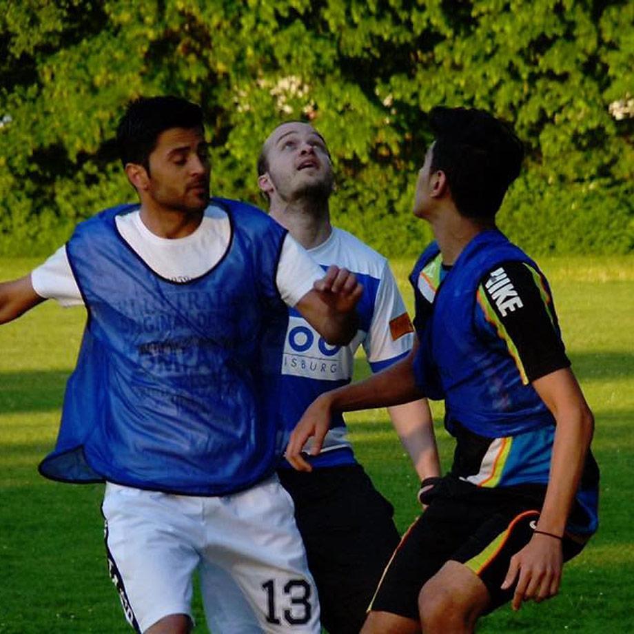 Interkulturelles Fußballspiel