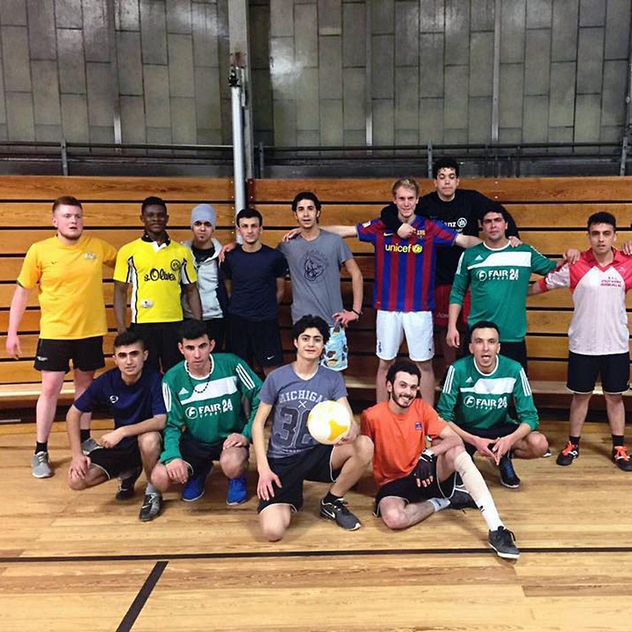 Interkulturelle Fußballmannschaft