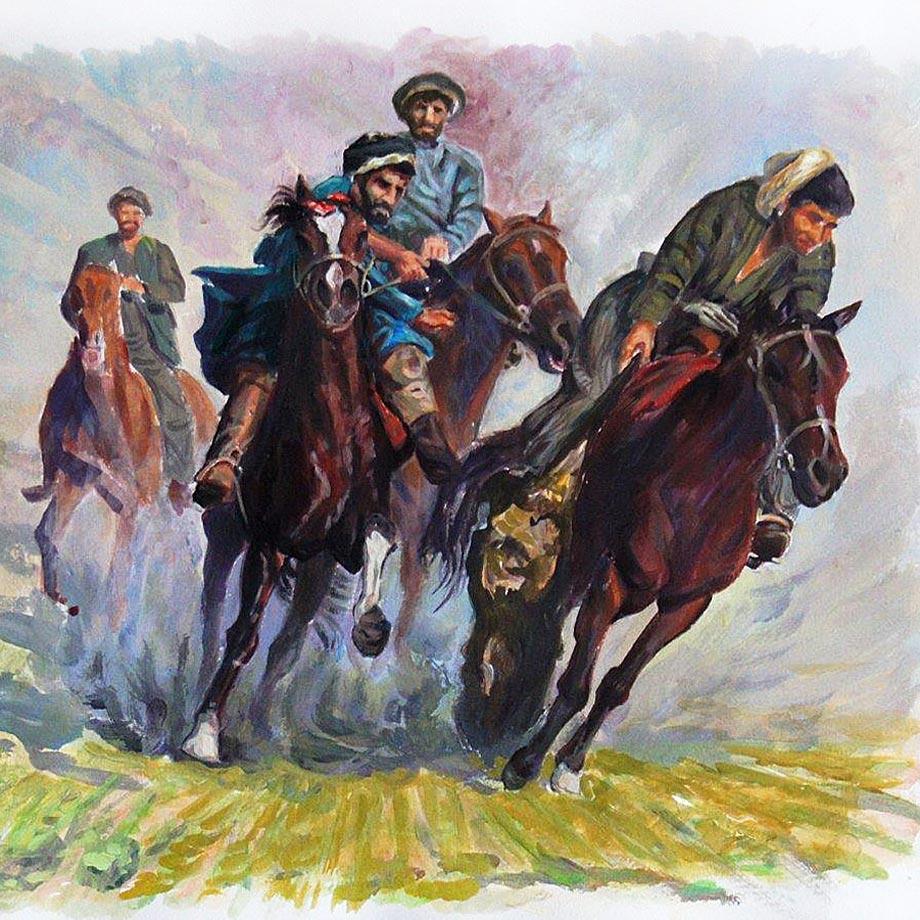 Gemälde von Sultan Khairandish