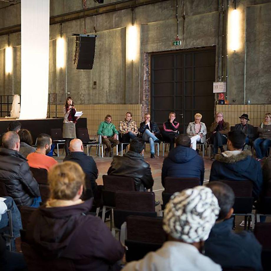 Diskussion Flucht und Migration im Kulturbetrieb