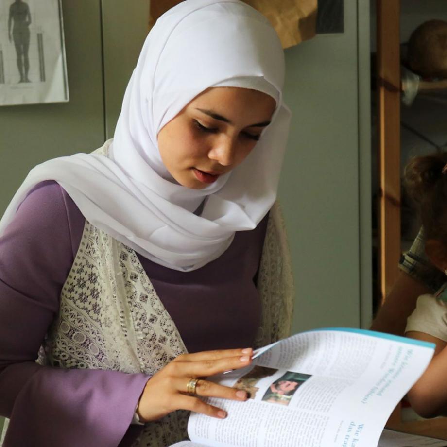 Neu in Deutschland: Nour Al Zoubi