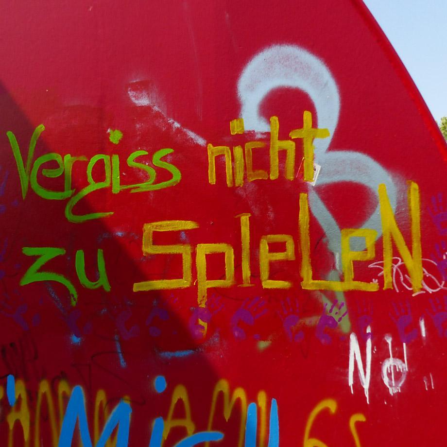 Wilde Typografie / Graffiti Imitat