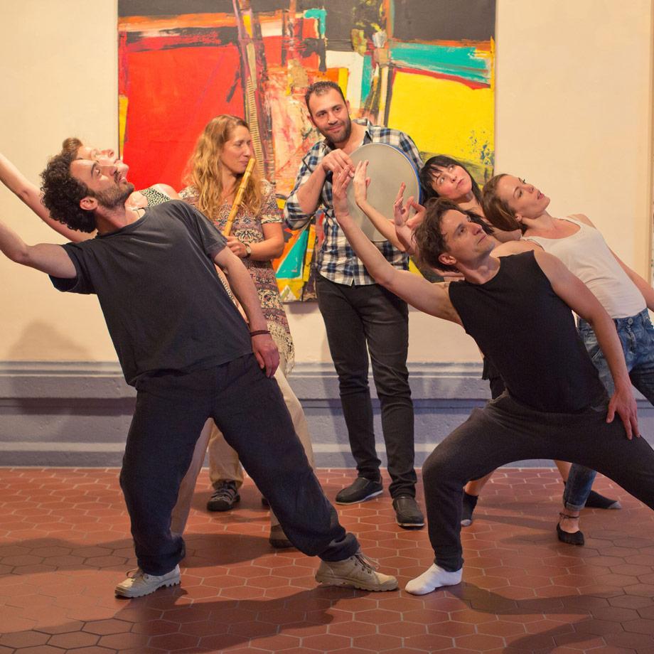 Schwarzweissbunt: Musik- und Tanzworkshop