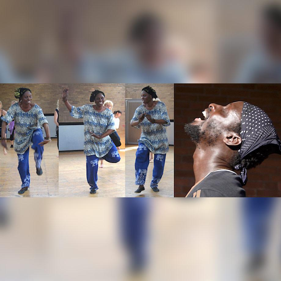 Westafrikanische Tanz-Workshops
