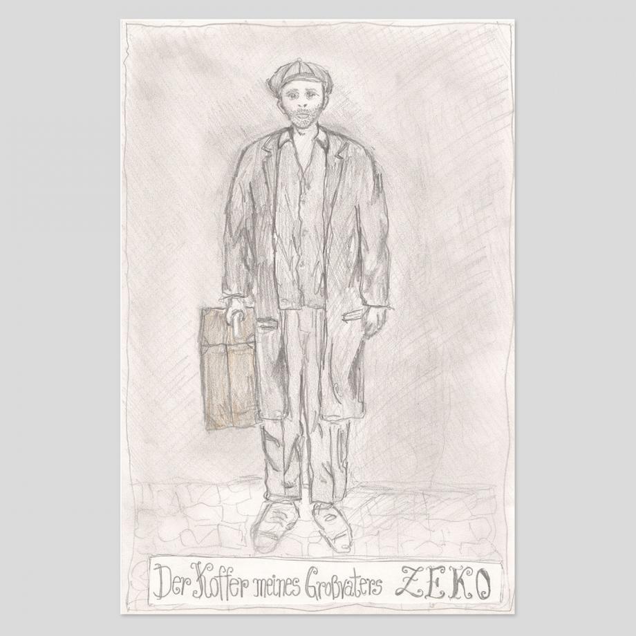 Der Koffer meines Großvaters Zeko. Bild: Mustafa Zekirov