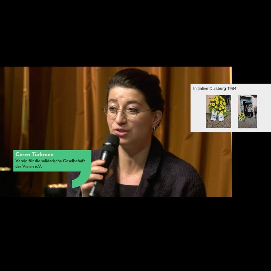 Interkultur Ruhr x Verein für eine solidarische Gesellschaft der Vielen e.V. im Livestream Panel der 9. Kulturkonferenz Ruhr