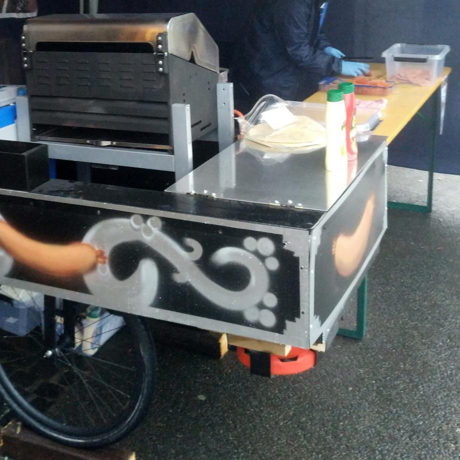 Foodbike in Dinslaken. Foto: Philipp Benninghoff