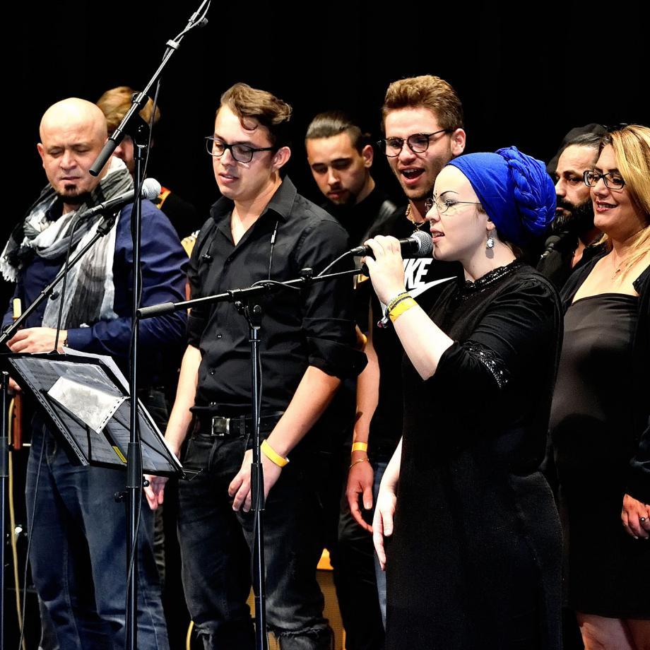 Allerwelt-Ensemble-Duisburg. Foto: Annegret Keller-Steegmann