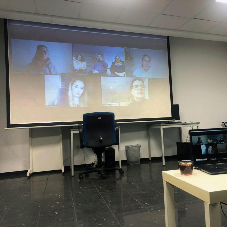 Online-Meeting. Foto: Fatma Karacakurtoglu
