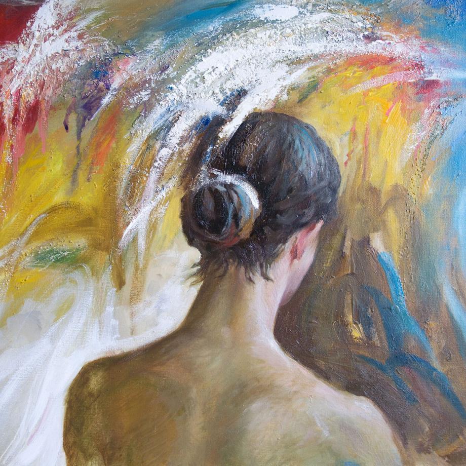 Nicht nur Nostalgie, Gemälde von Anatoliy Rozhansky