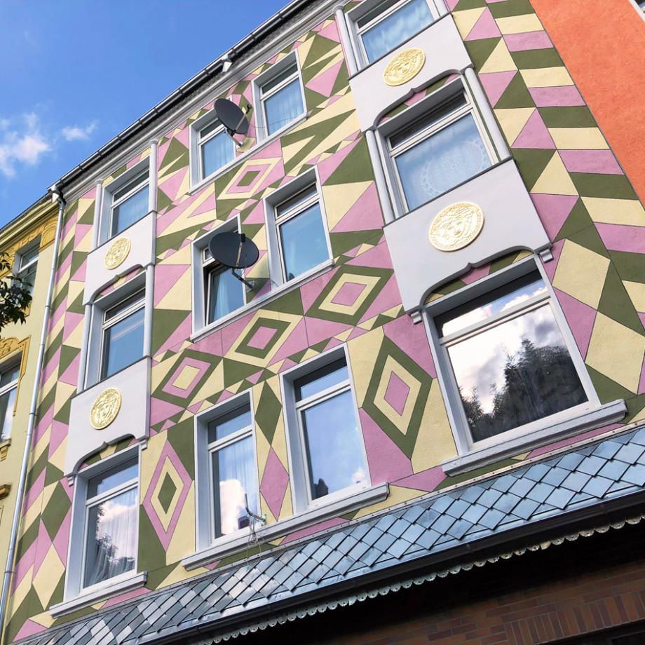 Faţadă / Fassade in der Dortmunder Nordstadt