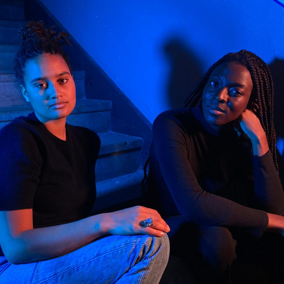 Marny Garcia Mommertz und Princela Biyaa, Association for Black Art_ists e.V., Foto: Adriano Vanini