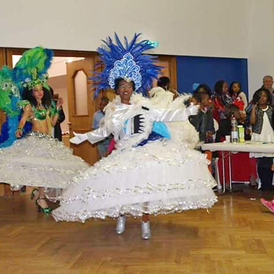 Tanzgruppe aus Brasilien. Foto: African Ivory Essen