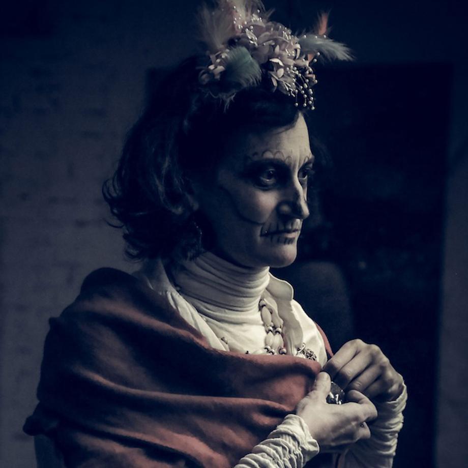 Virginia Novarin, Fest der Toten Dortmund. Foto: Regina Kammer