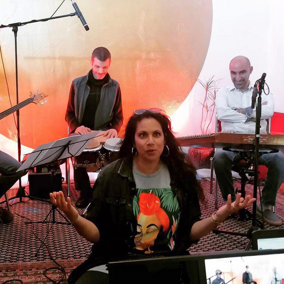 Julia Rumi, Salām 103 Nordstadt Session. Foto: Victor Lurie / Borsig11
