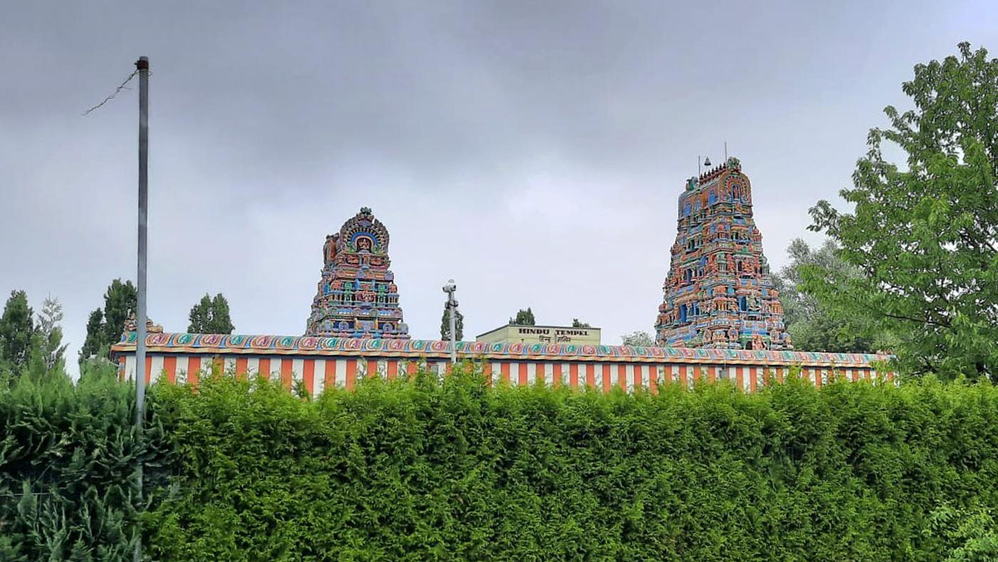 Sri-Kamadchi-Ampal-Tempel, Hamm