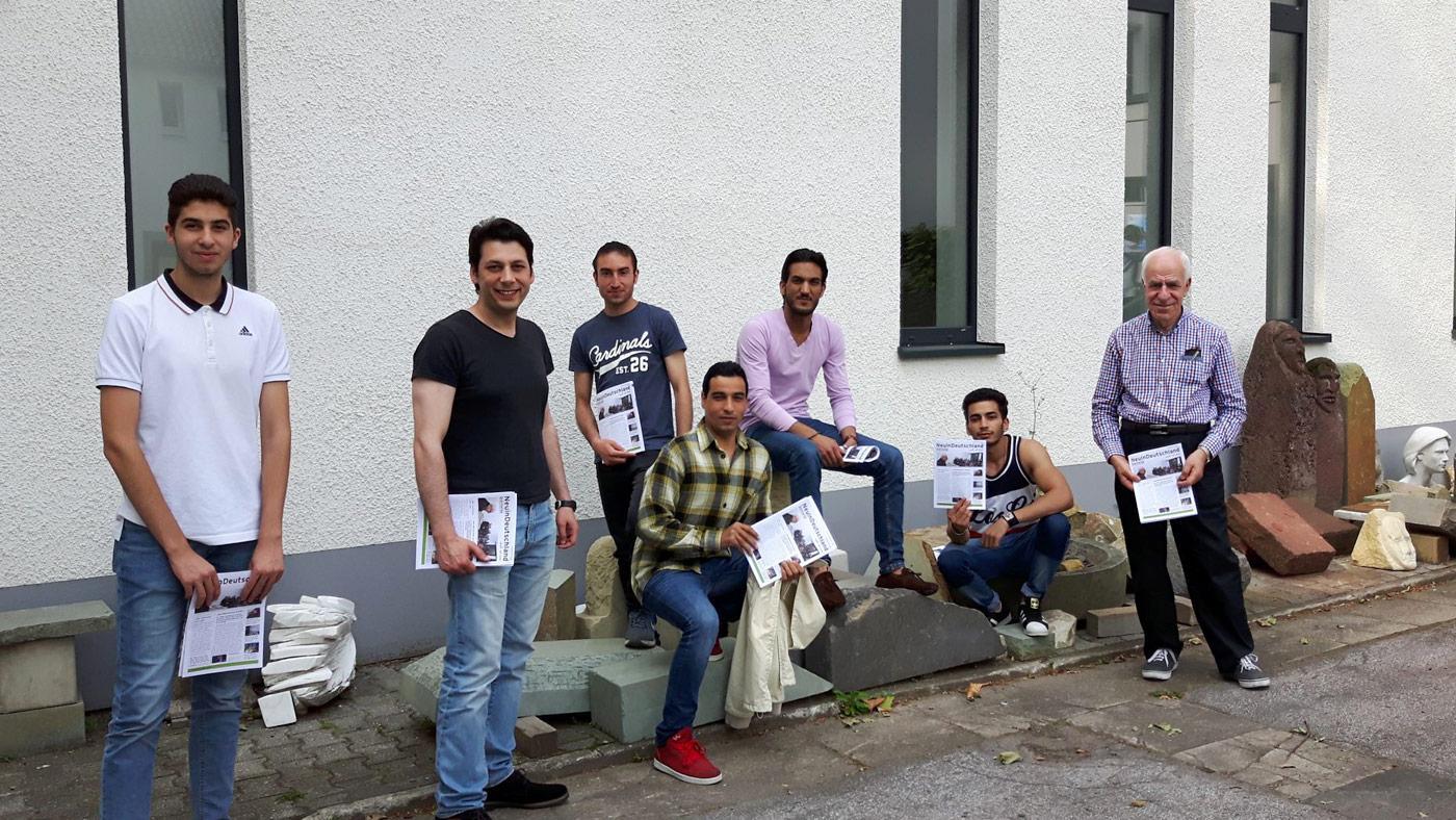 Redaktionsteam Neu in Deutschland