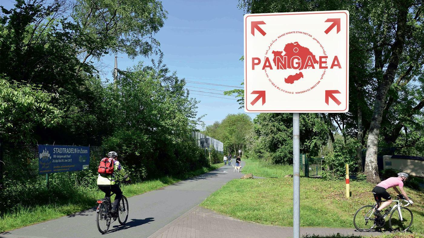 Welcome to Pangaea. Foto: RVR/Lueger